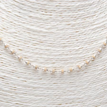 autres bijoux collier tulasi argent