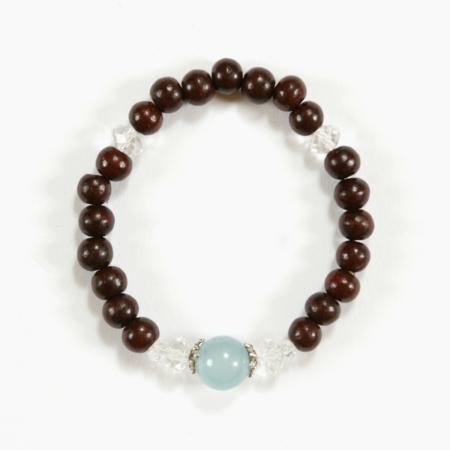 bracelets bois de rose pierre