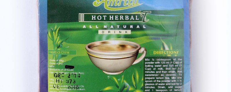 tisanes hot herbal t